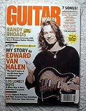 Eddie Van Halen - Guitar World Magazine - August 2004 - Randy Rhoads / The Pussycat Dolls Poster