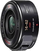 Panasonic LUMIX H-PS14042 - Objetivo Servo Zoom para cámaras de montura M4/3 (Focal 14-42 mm, F3.5-F5.6, tamaño filtro 37 mm, lentes asféricas, POWER O.I.S), negro