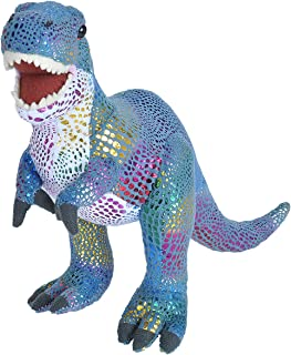 Wild Republic T-Rex Plush, Dinosaur Stuffed Animal, Plush Toy, Gifts for Kids, Glitter 12.5