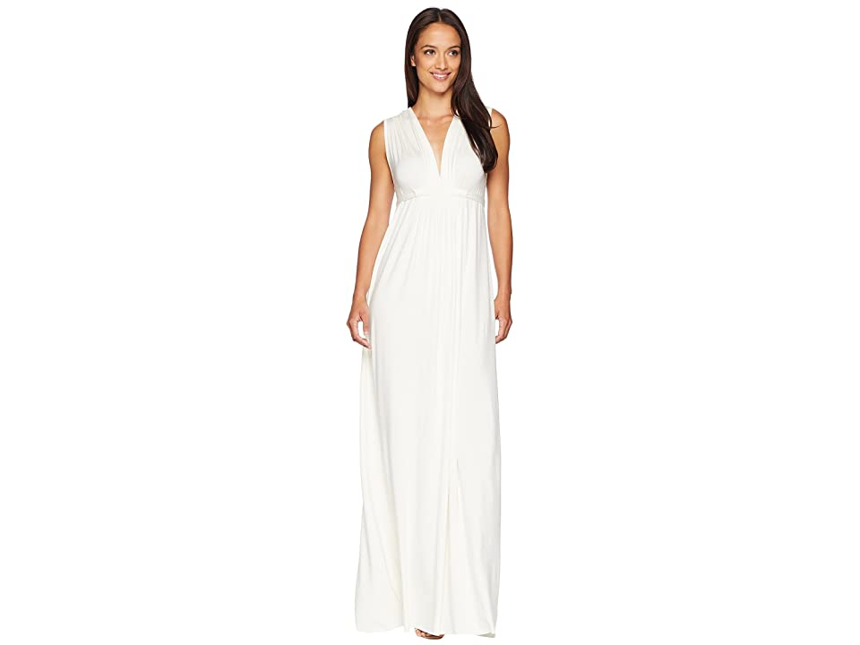 Rachel Pally Long Sleeveless Caftan (White) Women