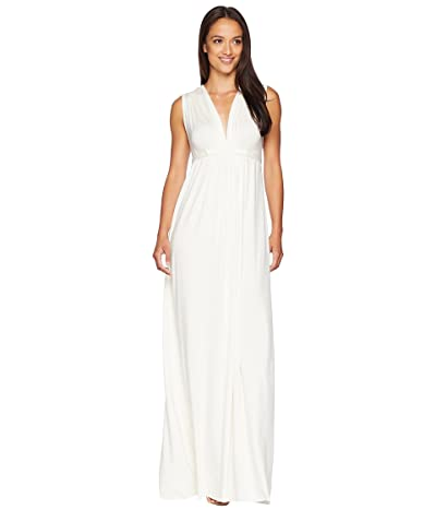 Rachel Pally Long Sleeveless Caftan (White) Women