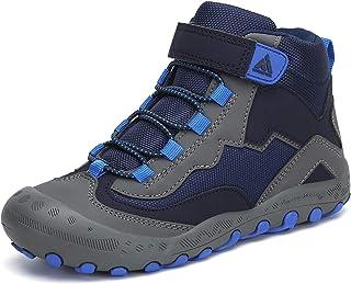 Mishansha حذاء المشي في الهواء الطلق الكاحل بنين بنات الرحلات، أحذية المشي مع خطاف وحلقة