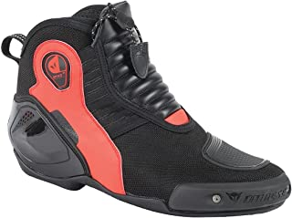 Dainese Dyno D1 Shoes (42) (Black/Fluorescent RED)