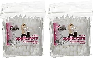 Swisspers Premium Cosmetic Applicators - 80 ct - 2 pk