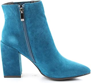 Alma en Pena Luxury Fashion Womens I19362LIGHTBLUE Light Blue Ankle Boots | Fall Winter 19