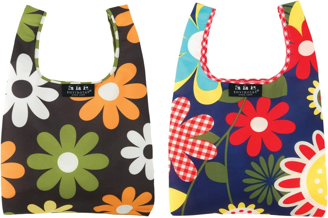 Envirosax Minisax Set of 2021new shipping free shipping 2 New Orleans Mall Lunch Bags Reusable