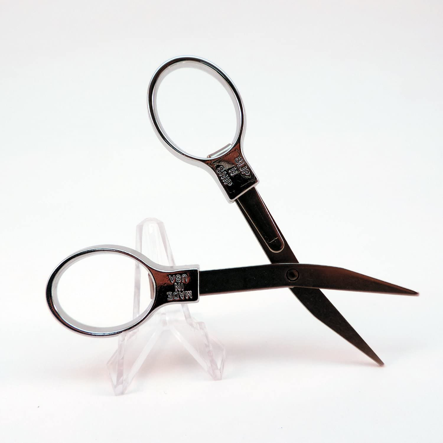 Slip-N-Snip The Original Folding Mesa Mall Safety 13 Scissors IN 2021new shipping free shipping 1
