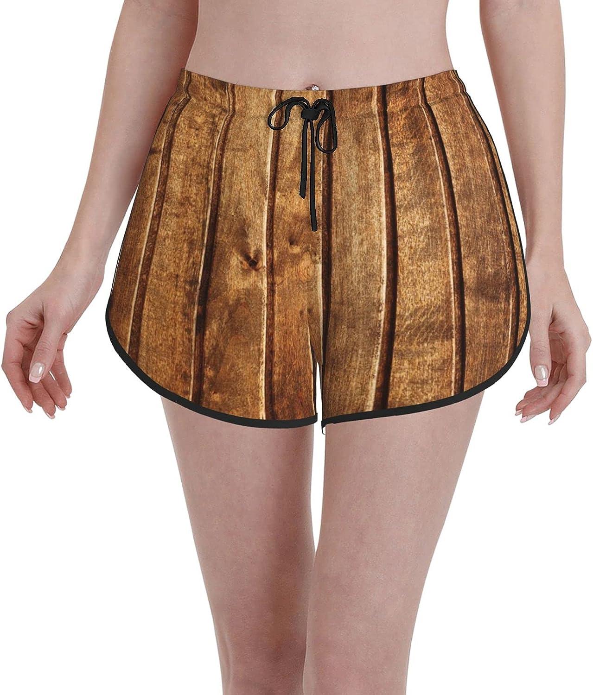 Janrely Casual Board Shorts for Women Girls Swim Trunks Beach Wear Sportswear