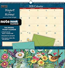 Heart & Home 2020 Pocket Wall Calendar