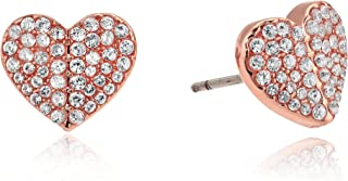 Kate Spade New York Women's Pave Small Heart Studs