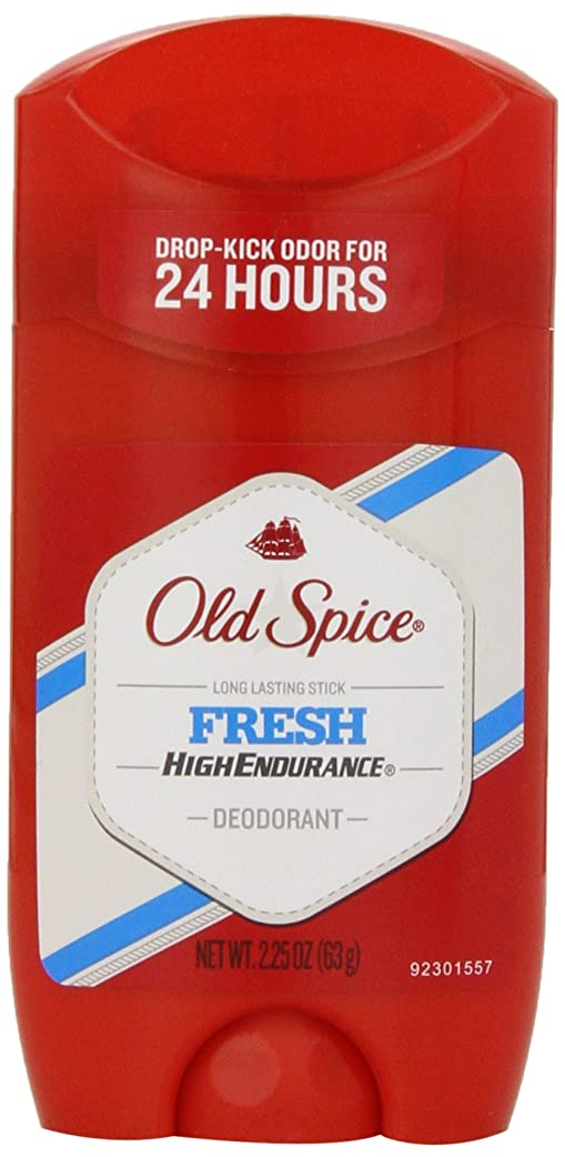 引き金前進ジェスチャーオールドスパイス Old Spice ハイエンデュランス フレッシュ デオドラント スティック 男性用 63g[平行輸入品]