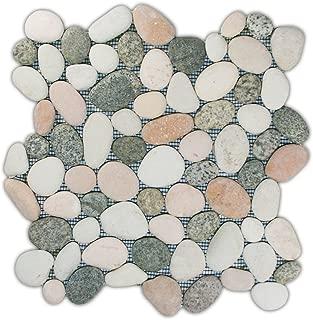 Best pebble tile border bathroom Reviews