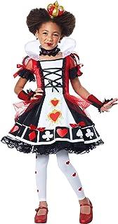 California Costumes Girls Deluxe Queen Of Hearts Child Costume