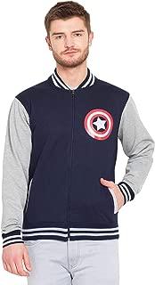 Inferno Captain America Bomber Jacket | Mens Hoodies Hoodies for Mens | Captain America Hoodie Sweatshirt Winter Cotton