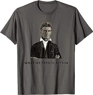 John Brown Abolitionist USA History Teacher Civil War T-Shirt