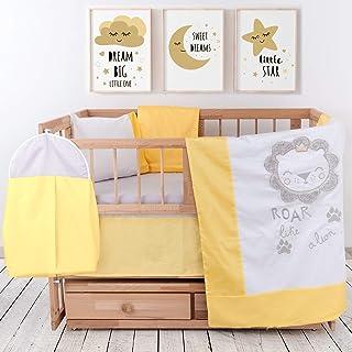 Breathable /& Comfy Premium Turkish Cotton Woodland Collection 100/% Cotton Crib Bedding Set Includes Mattress Protector Jungle Design Nursery Crib Bedding Set 8 Piece Baby Bedding Crib Set