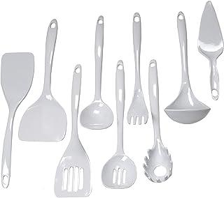 Chef Craft 9-Piece Kitchen Tool Set, White