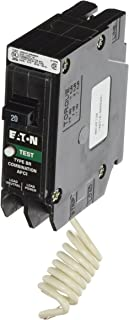 Eaton Corporation BRCAF120 Single Pole Type Br 1 Combo Arc Fault Circuit Breaker, 20-Amp