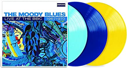 Live At the BBC 1967-1970 Light Blue/Dark Blue/Yellow