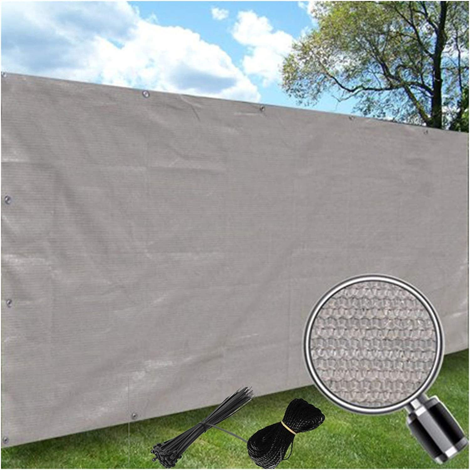 LSXIAO Outdoor Backyard Fence Mesh Popular shop is the lowest price challenge Wind Screen Privacy Balcony OFFicial store
