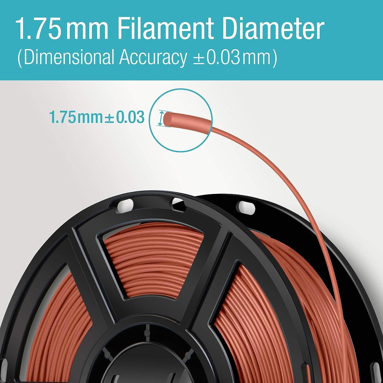 Amazon Com Flashforge Usa Pla Filament 1 75 Mm 0 5 Kg Adventurer 3 Dreamer Finder Inventor Black Office Products