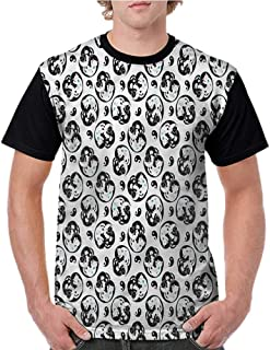 Tops O Neck T Shirts,Yellowstone,Spring Hot Volcano S-XXL Sleeves for Men