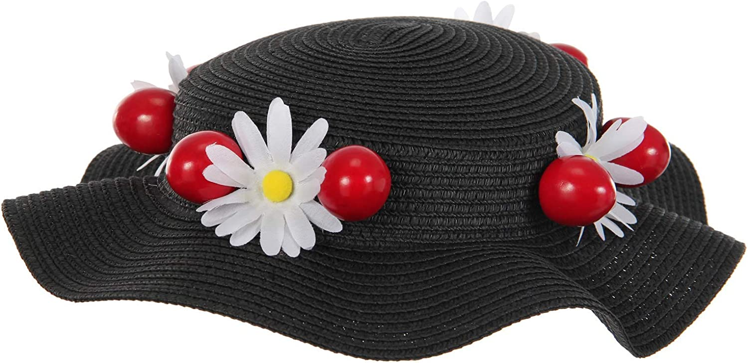 elope Mary Poppins Black Max 83% National products OFF Hat Accessory