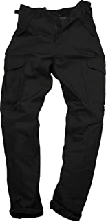 Mens Plain Combat Trousers Work Trousers by Blue Castle