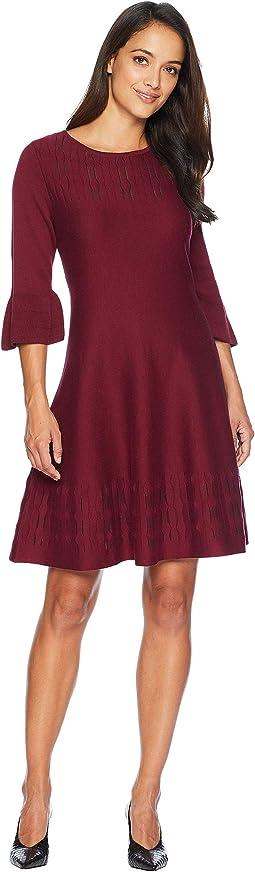 Petite Illusion Twirl Dress