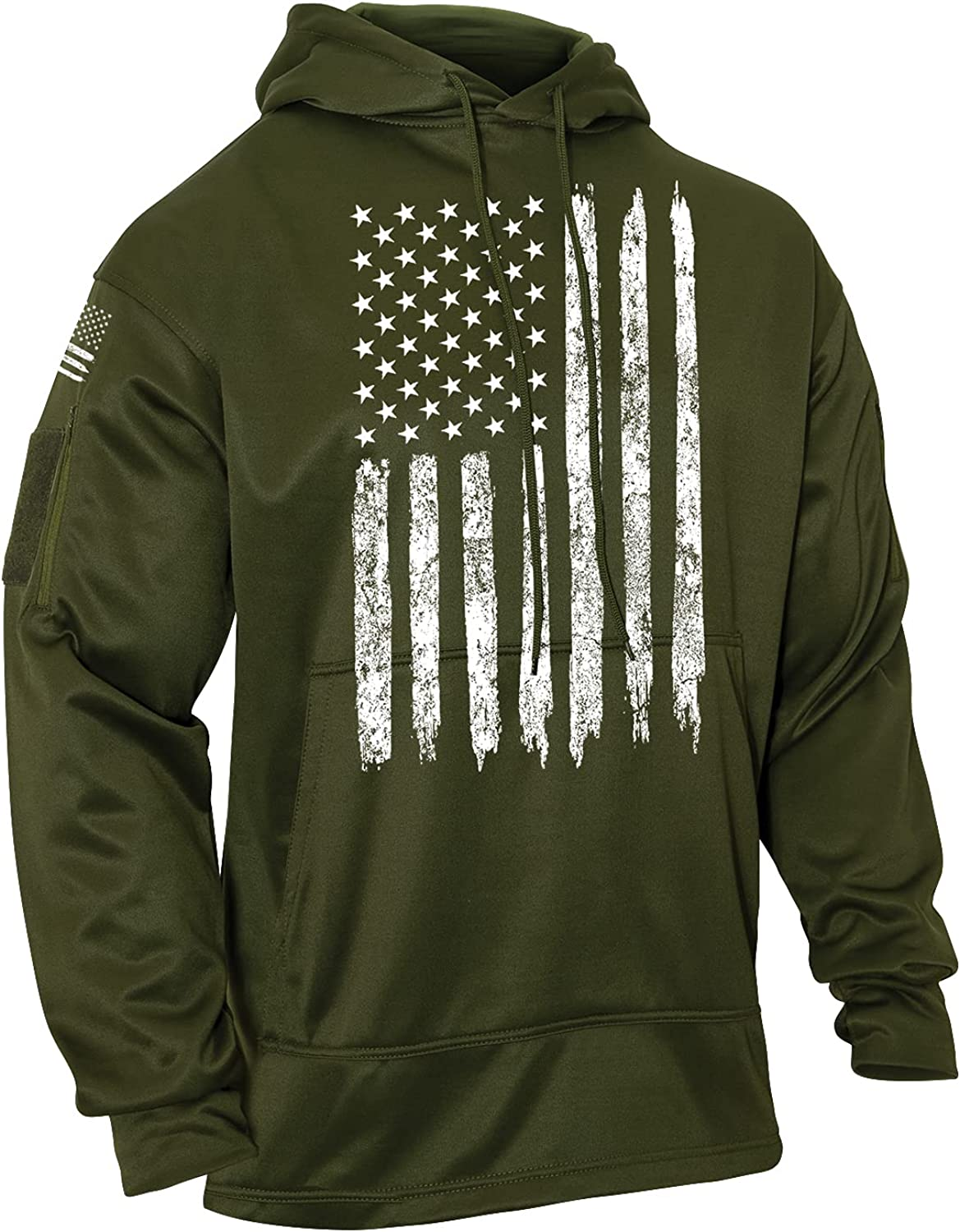 Rothco Max 77% OFF U.S. Flag Over item handling ☆ Hoodie Concealed Carry