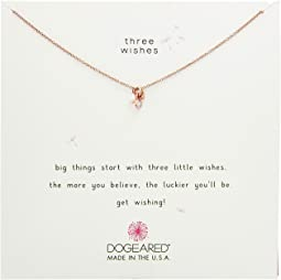 Dogeared - Three Wishes Cluster Necklace