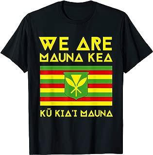 Kanaka Maoli Flag, We Are Mauna Kea T-Shirt