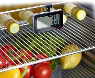 Westmark digital kylskåpstermometer, mäter temperaturer inuti eller utanför kylskåpet, plast/glas, silver/svart, 52152280
