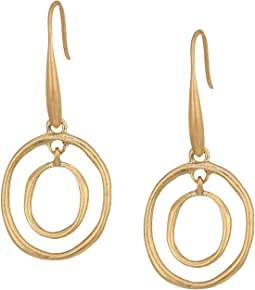 Mini Metal Orbit Earrings
