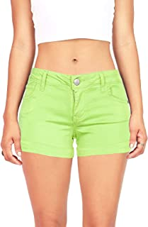 Women's Juniors Casual Cuffed Shorts