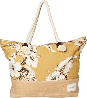 Rip Curl Women's Island Time Standard Tote Bag Cotton Canvas
