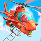Dinosaur Helicopter - Rescue games for kids toddlers