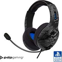 PDP Gaming LVL50 Wired Stereo Headset: Black Camo 051-099-NA-CAM - PlayStation 4