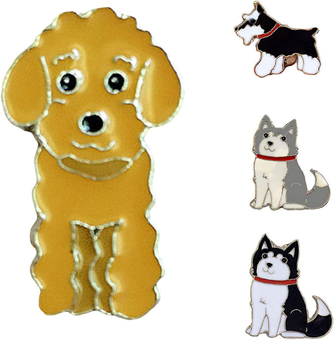 Brooch Pin for Girls Jewelry Accessories 2021 Denver Mall Cute Ena Animal Dog Pet