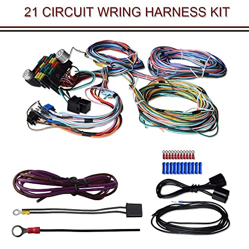 Painless Wiring Harness: Amazon.com on duraspark conversion harness, duraspark wiring diagram ford bronco, duraspark ii carburetor,