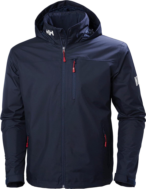 Helly-Hansen 33874 Men's Crew Hooded Midlayer Jacket