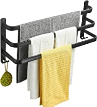 Handdoekenrek Handdoekenrek, Waterdichte En Roestvrije Ruimte Aluminium Handdoekenrek Voor Badkamer, Drielaags Zoekgeraakt...