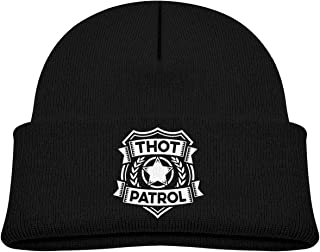 Thot Patrol is On The Case Baby Boy Girl Beanie Hat Knitted Beanie Knit Beanie