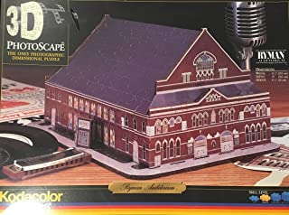 Kodacolor 3D Puzzle Ryman Auditorium (Formerly Grand Ole Opry House and Union Gospel Tabernacle)