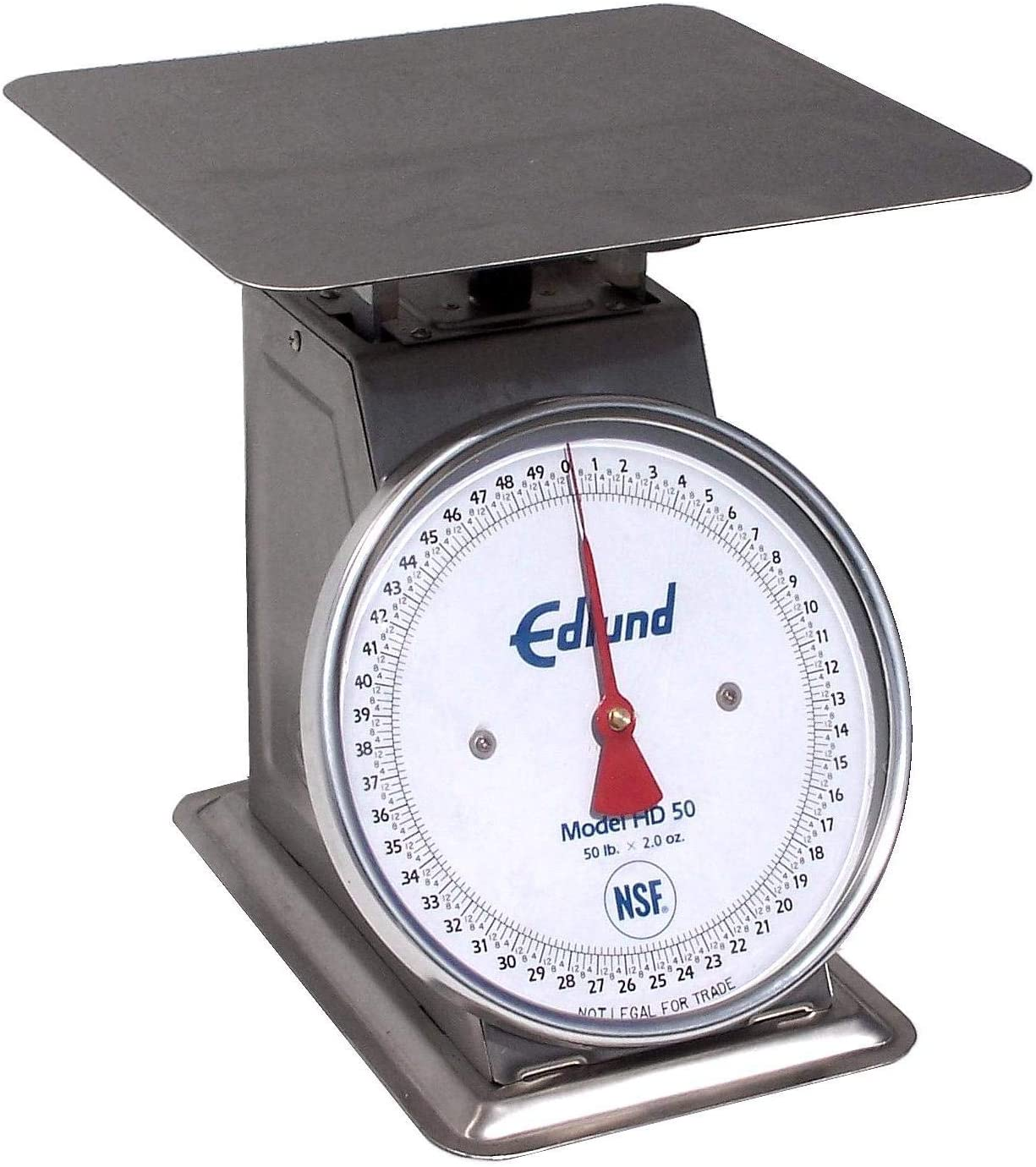 Edlund HD-50 Dial Type Portion Scale w/ Sloped Face (50 lb x 2 oz Graduation)