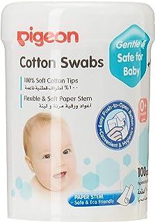 Pigeon Cotton Swabs, 100 Pieces