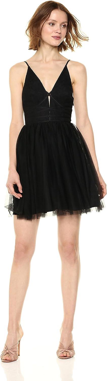 BCBGeneration Womens Lace Up Tutu Dress Dress
