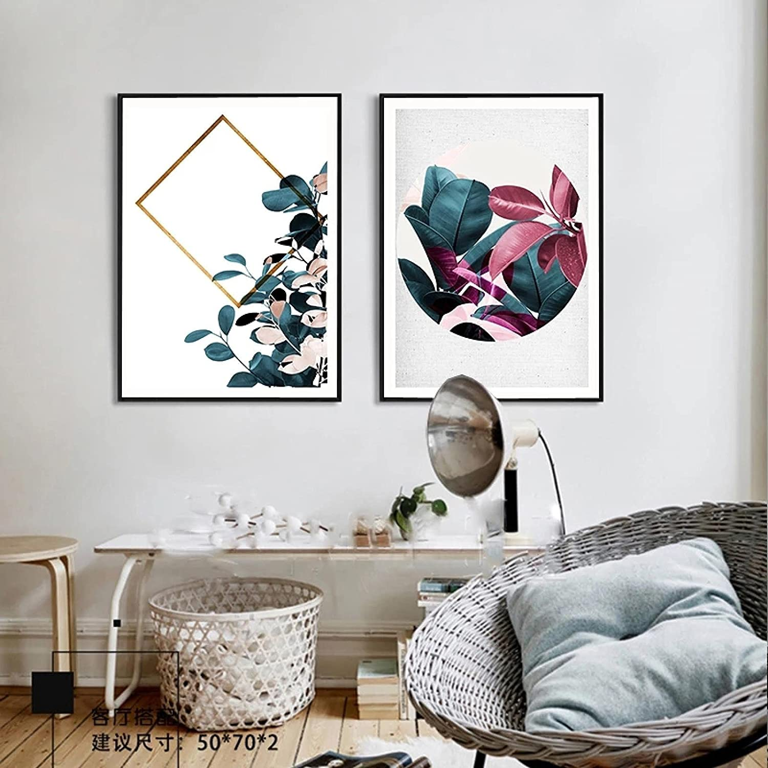Fashion Sunsightly Print on Canvas Nordic Abstract Poster SALENEW very popular Flowers