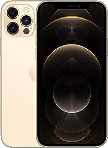 Apple iPhone 12 Pro, 256GB, Gold - Fully Unlocked (Renewed)