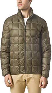 Men Packable Down Quilted Puffer Jacket Lightweight Puffer Coat